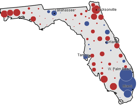 Florida, 2000 presidential election (NYT)