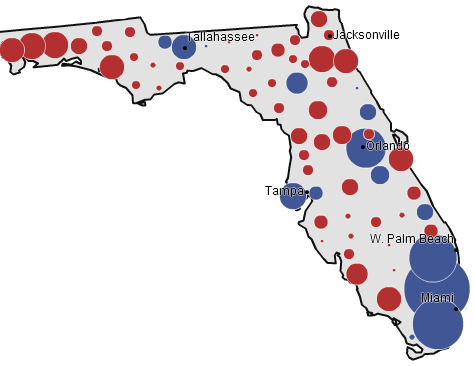 Florida, 2008 presidential election