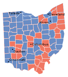 Ohio, 1932 presidential election