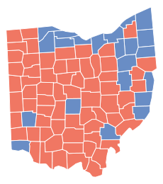 Ohio, 2008 presidential election