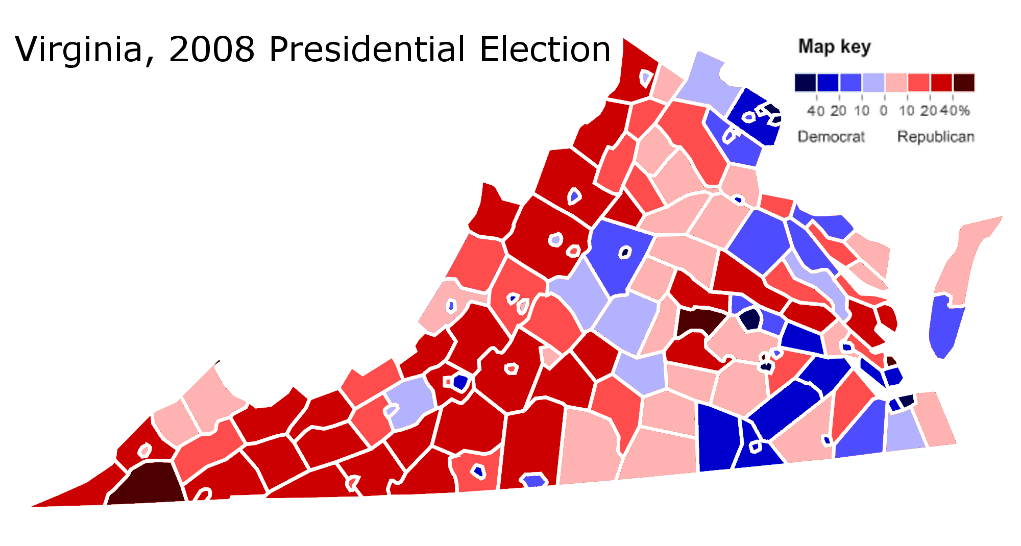 Analyzing Virginias 2009 Gubernatorial Election Part 2
