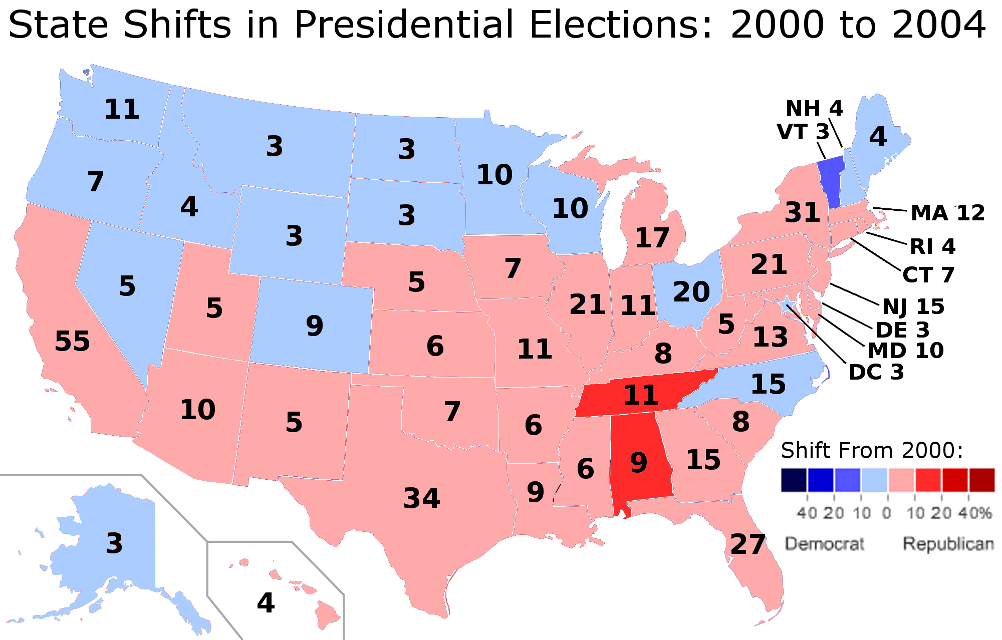an analysis of the 2000 us presidential election Professor who predicted 30 years of presidential elections popular vote in each election – he picked an al gore win in 2000 of the united states.