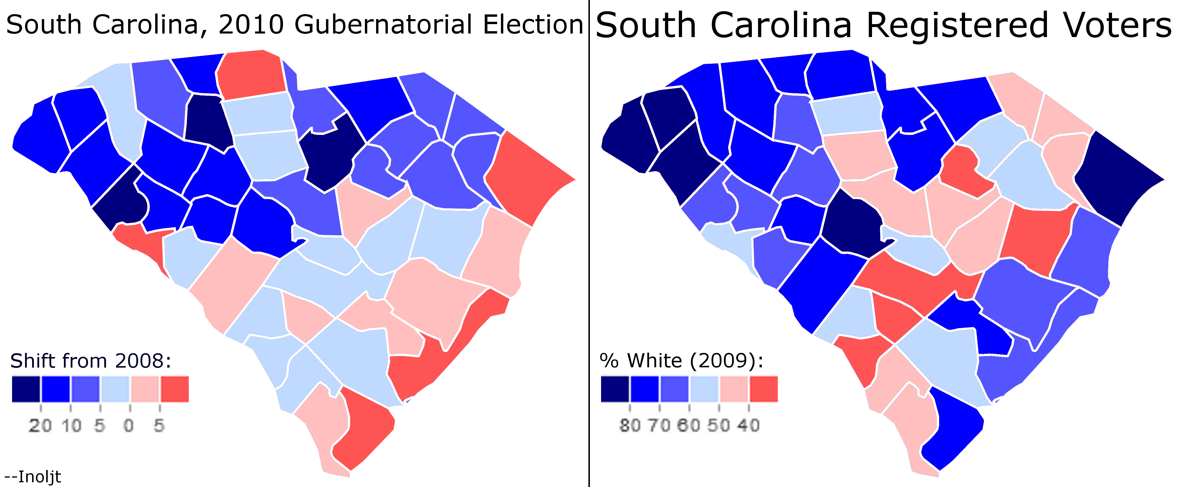 Analyzing The 2010 Midterm Elections The South Carolina
