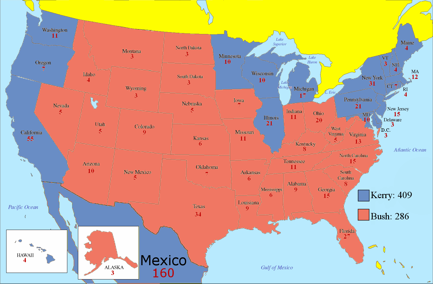 What If Mexico Was Part Of The United States The Politikal Blog