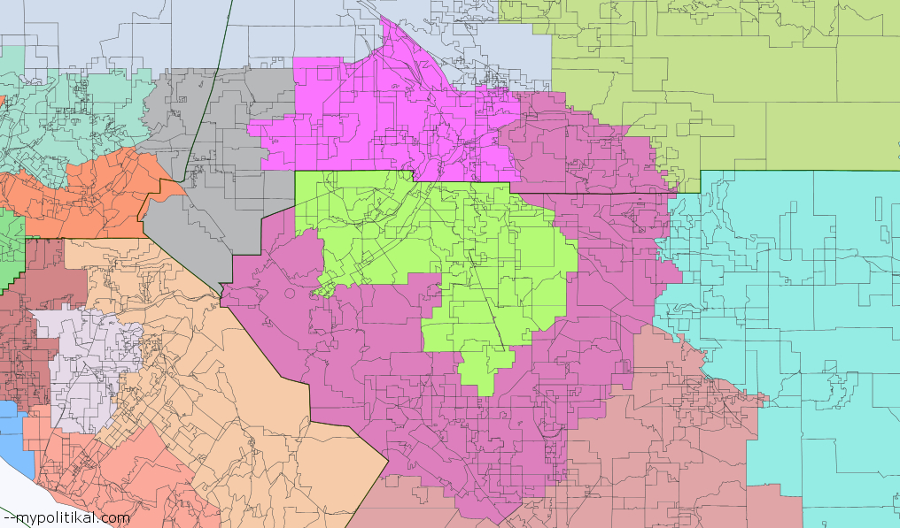 A Proposal to Redistrict California the Inland Empire Shadowproof