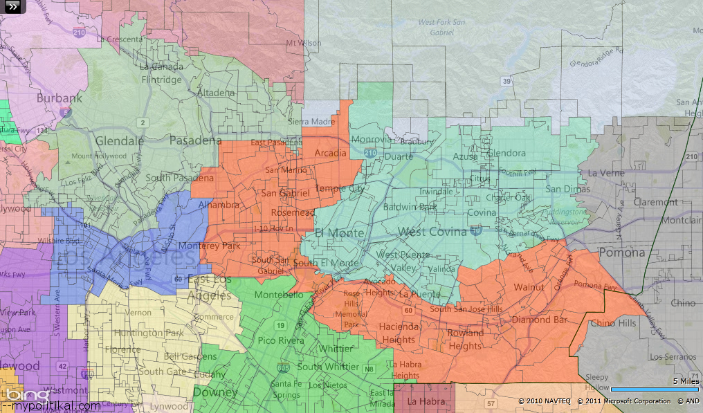 a proposal to redistrict california los angeles the politikal blog