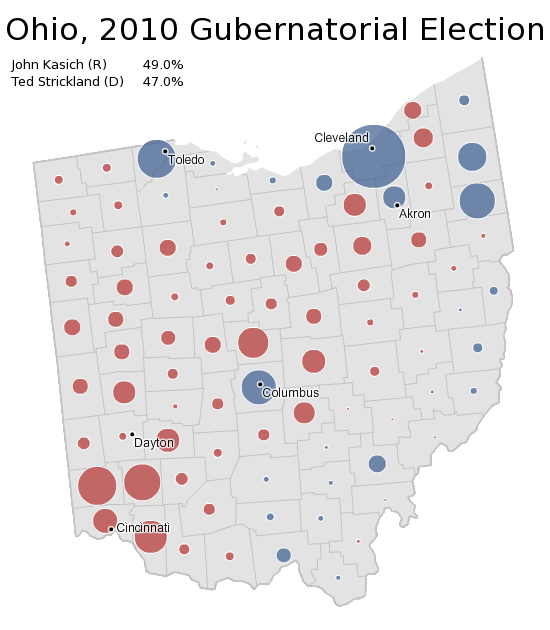 Ohio Election Map | afputra.com